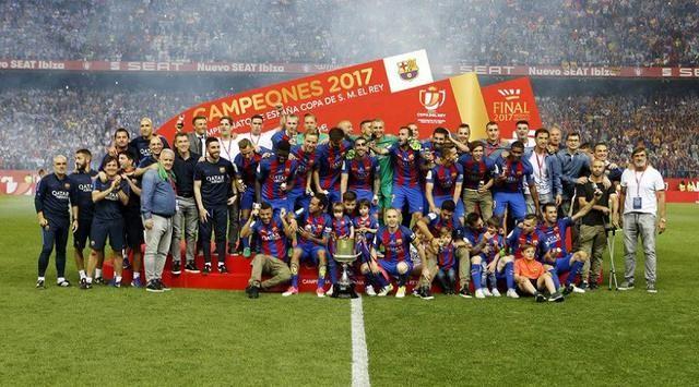 Menang 3-1 Atas Alaves, Barcelona Tutup Musim Dengan Copa del Rey