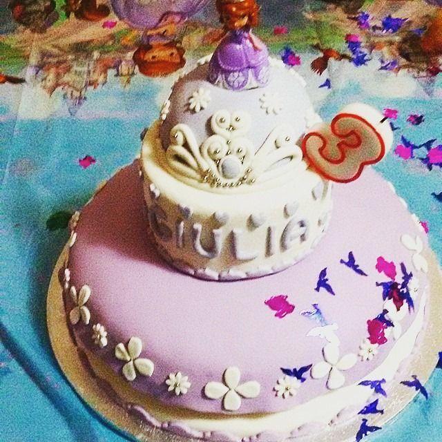 torta principessa Sofia