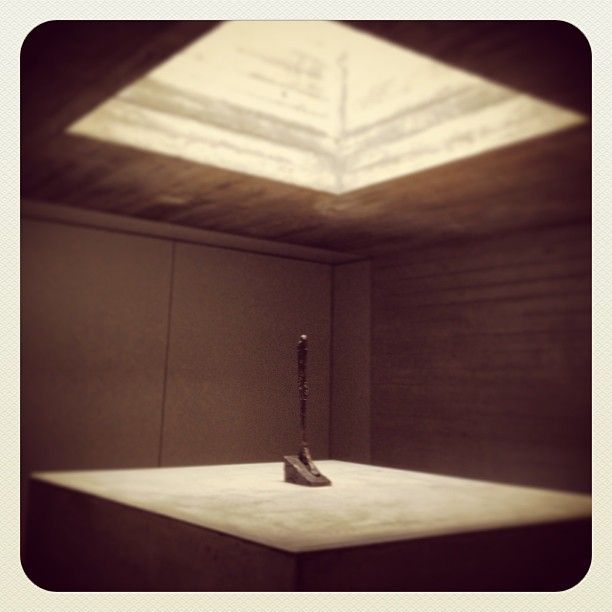 Alberto #Giacometti: «Stehende», 1960. Bronze