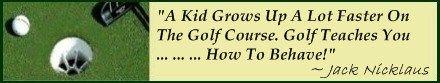 Good Golf Etiquette demands well behaved players