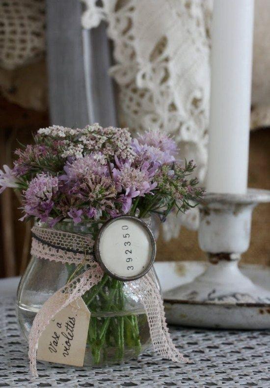 botes de cristal para flores | Estilo Escandinavo
