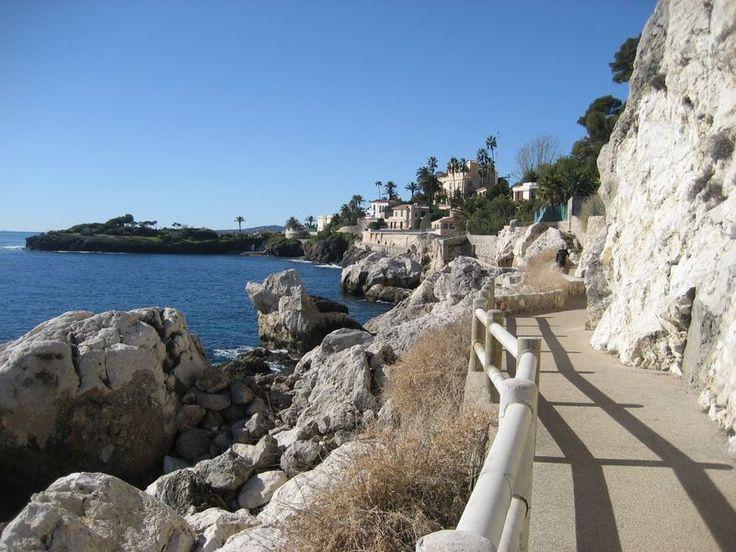 Sentier Littoral on Cap d'Ail toward Pointe des Douaniers