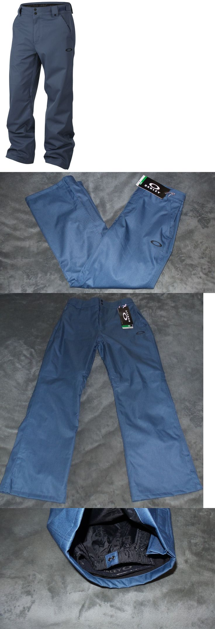 Snow Pants and Bibs 36261: Oakley Sun King Bzs Biozone Ski/Snowboard Pants Mens Size Xl #422039 Blue Shade -> BUY IT NOW ONLY: $89.99 on eBay!