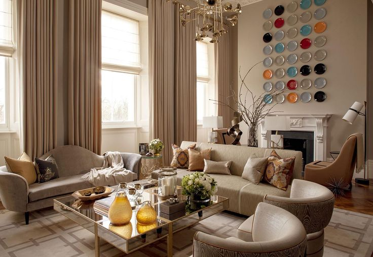 Hyde Park Luxury Apartment - Living Room - Interior Design by Intarya – Interior Design by Intarya