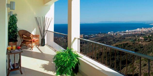 Marbella view from Samara Resort