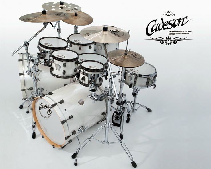 i like the white set it is different from the usual drum colors that ive seen out there