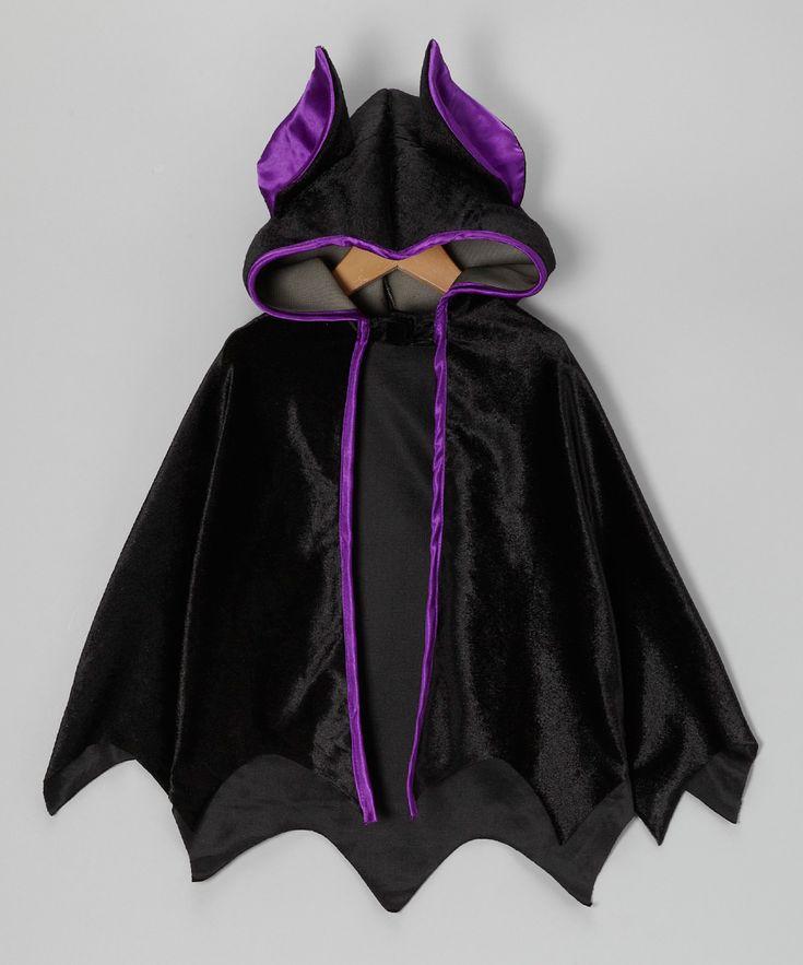 No tutorial, just idea: Black Bat Cape: