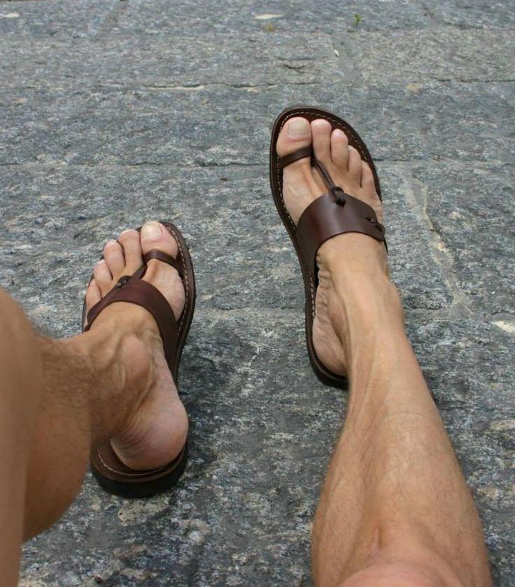 Mens Sandals - Brand: Sandali 100% Salento