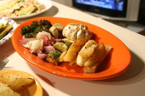 Roasted veggie made by myself!!: Rosted Veggie, Foodie, Cooking, Roasted Veggies