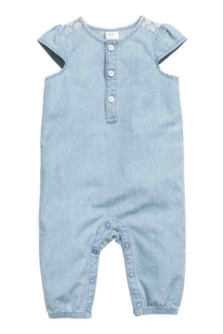 H&M - Denim romper suit £12.99