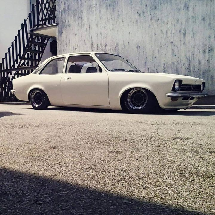 Opel Kadett | Lowered, Slammed, Stance