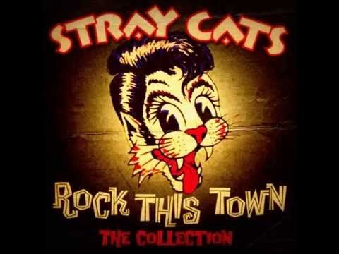 The Stray Cats - Rock This Town - YouTube