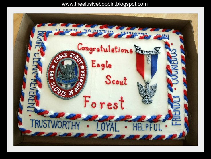Eagle Cakes Images | Eagle Scout Cake