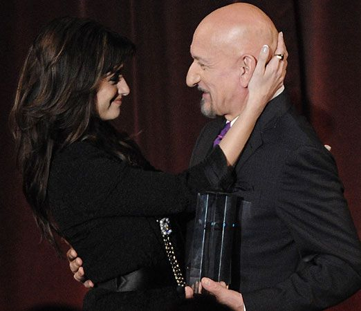 penelope cruz and Ben Kingsley