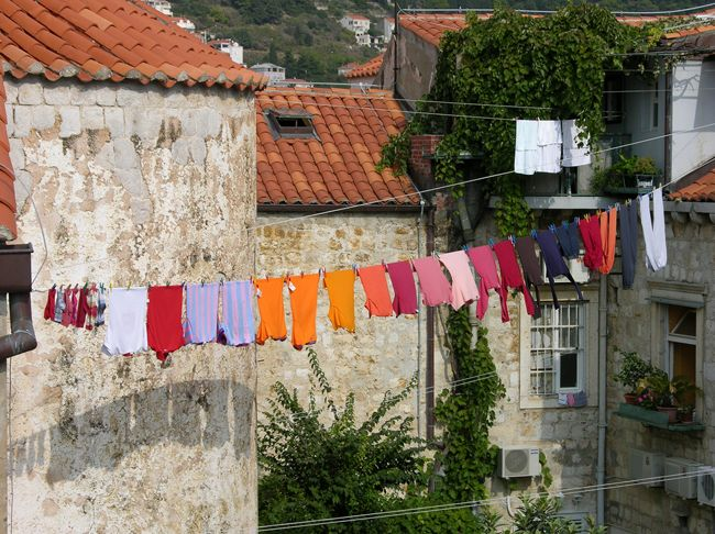 What is it about clotheslines today?