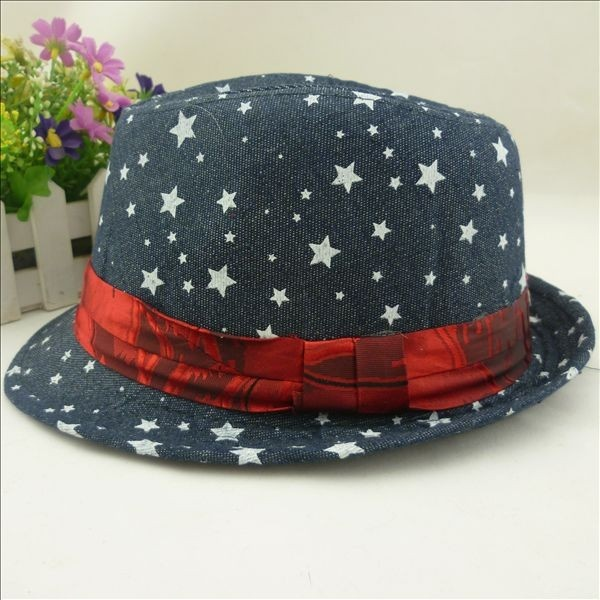 Oh starry, starry nightttt!!  Only one of these in stock for only $22.95!  (http://www.little-mister.com/the-godfather-fedoras/)