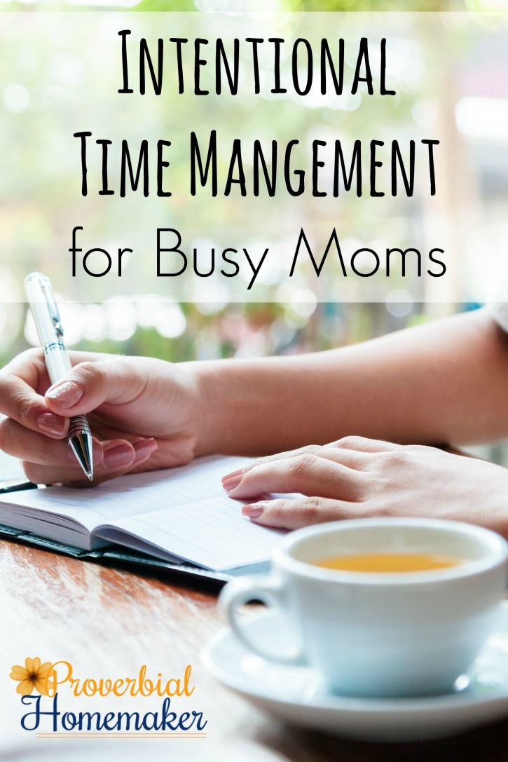 Intentional Time Management for Busy Moms - a 2-part mini course with printable worksheet! Get a handle on your workload with this crash course in time management.  via @TaunaM