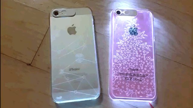 iPhone Cases Light Up to Reveal Patterns Whenever You Get a Call                                                                                                              .:JuSt*!N*cAsE:.