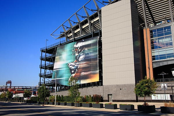 Lincoln Financial Field, football home of the NFL Philadelphia Eagles, located in the South Philly sports complex, not far from Citizens Bank Park.