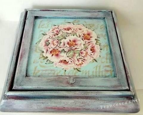 Παλαίωση σε ξύλινο κουτί https://www.facebook.com/pages/Francescas-Art/347467208699516