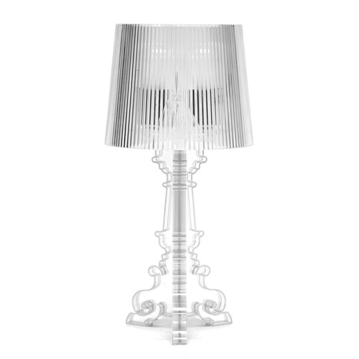 Baxton Studio Aristocrat Clear Acrylic Modern Table Lamp | Overstock.com  Shopping   The Best