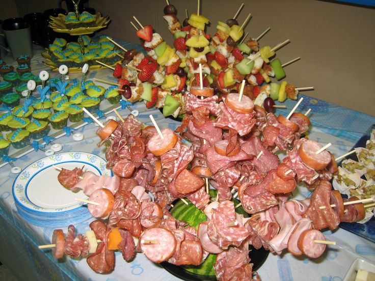 Baby Shower Finger Foods For Boys | Baby Shower Theme