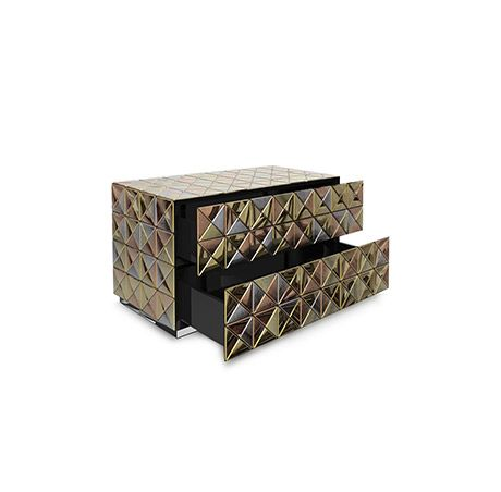 Pixel Nightstand by Boca do Lobo born out of strong desire to innovate. This nightstandmakes the most oftraditional materials and techniques in various artistic colors | http://masterbedroomideas.eu/