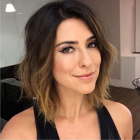 8 cabelos de celebridades para te inspirar - Fernanda Paes Leme
