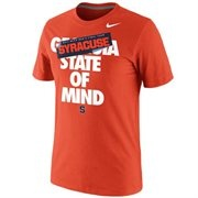 Nike Syracuse Orange 2013 Men's Basketball Tournament Final Four Bound State Of Mind T-Shirt