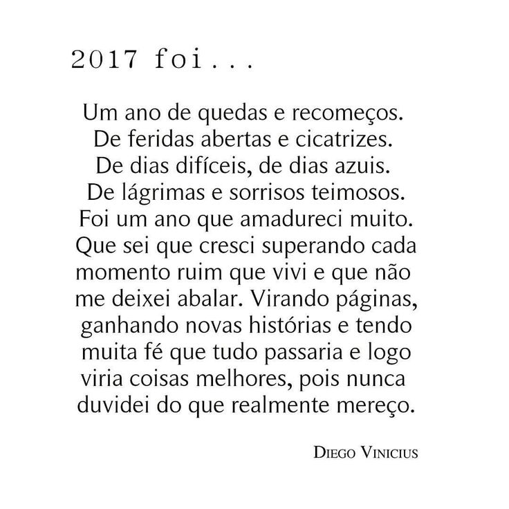 """12.8 mil curtidas, 159 comentários -  Diego Vinicius  (@escritordiegovinicius) no Instagram: """"2017 foi ( parte 2 ) Todo dia um card novo sobre esse ano que tá chegando no seu fim. Boa noite!…"""""""