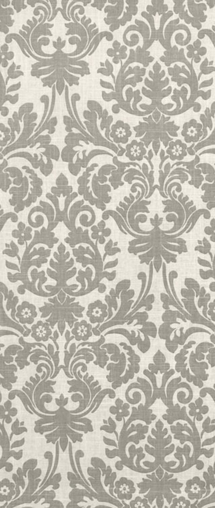 Waverly Essence Smoke Gray Fabric 23 95 Per Yard Damask