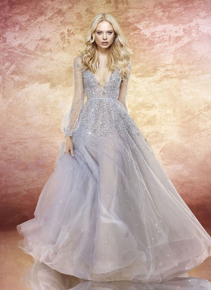 20 Magical Celestial Wedding Dresses For Star-Crossed Brides!