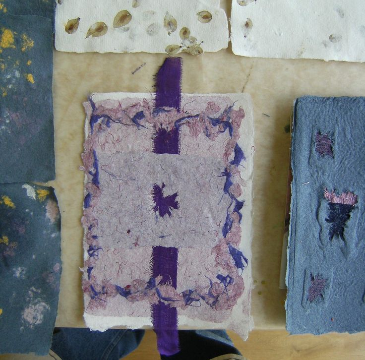 Course work Papermaking with Textiles 2