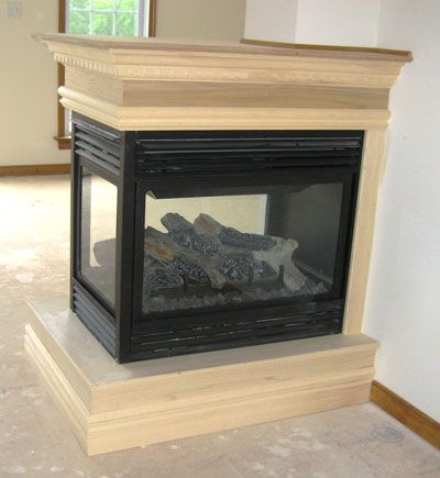 3 sided fireplace ideas | Custom Home Builder for Central Virginia - Ken Broadwater Homes, LLC