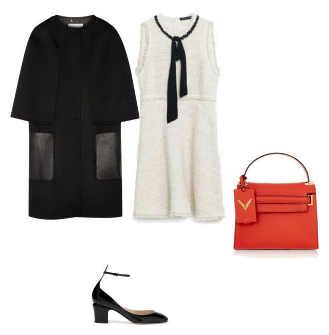 Retro office look2 by the925editor on Polyvore featuring Fendi and Valentino