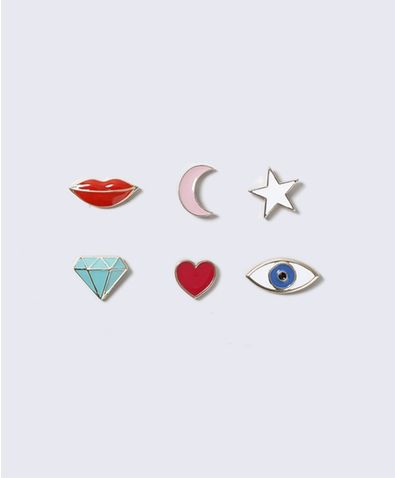 Eye Badge Pack 99.00 SEK, Kroppssmycken - Gina Tricot