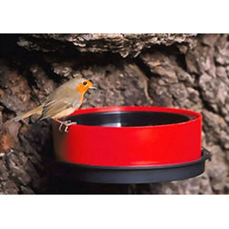 Happy Bird Solar Sipper Heated Bird Bath - Bird Baths at Hayneedle                                                                                                                                                                                 More