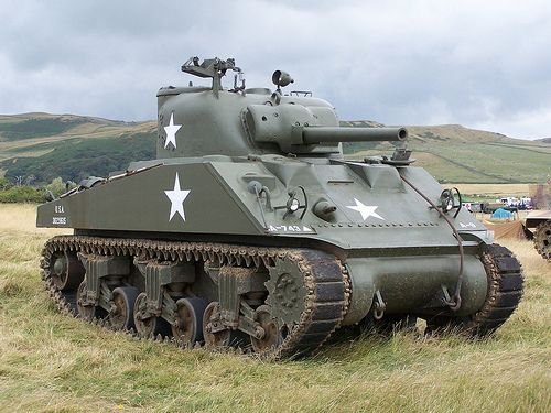 In the US doctrine, the medium tank's job was to assist infantry in the assault and provide a base of fire to fight from. Taking on enemy tanks were the job of purpose-built tank destroyers. The UK, which was a major user of the Sherman, differed in doctrine - tanks were expected to engage enemy tanks.