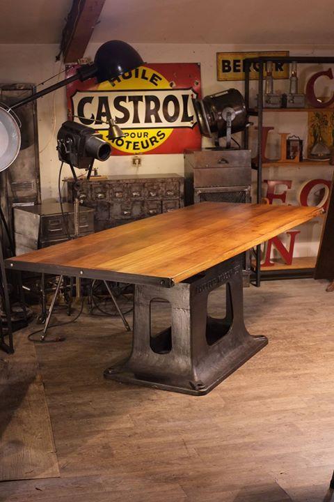 les 832 meilleures images propos de meuble industriel vintage de renaud jaylac sur pinterest. Black Bedroom Furniture Sets. Home Design Ideas