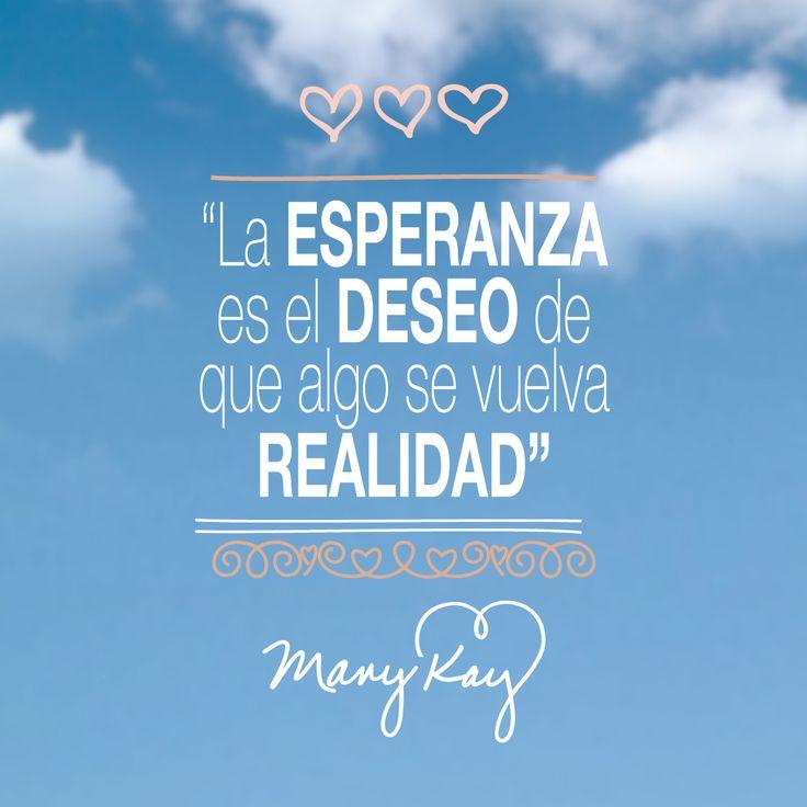 ¿Y tú que deseas hacer realidad esta semana?  ☺👍✨🌟💖  #MaryKayAsh #Frases #Quotes