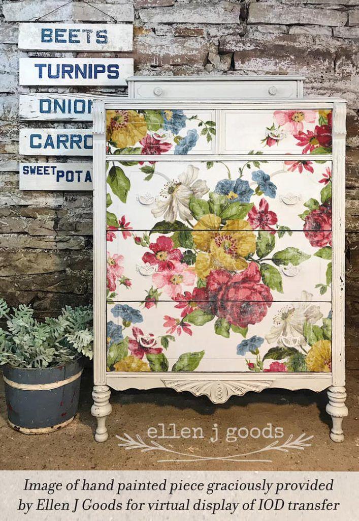 New Iron Orchid Designs Transfers Shangri La Lane Iron Orchid Designs Flower Wall Decor Pottery Barn Decor