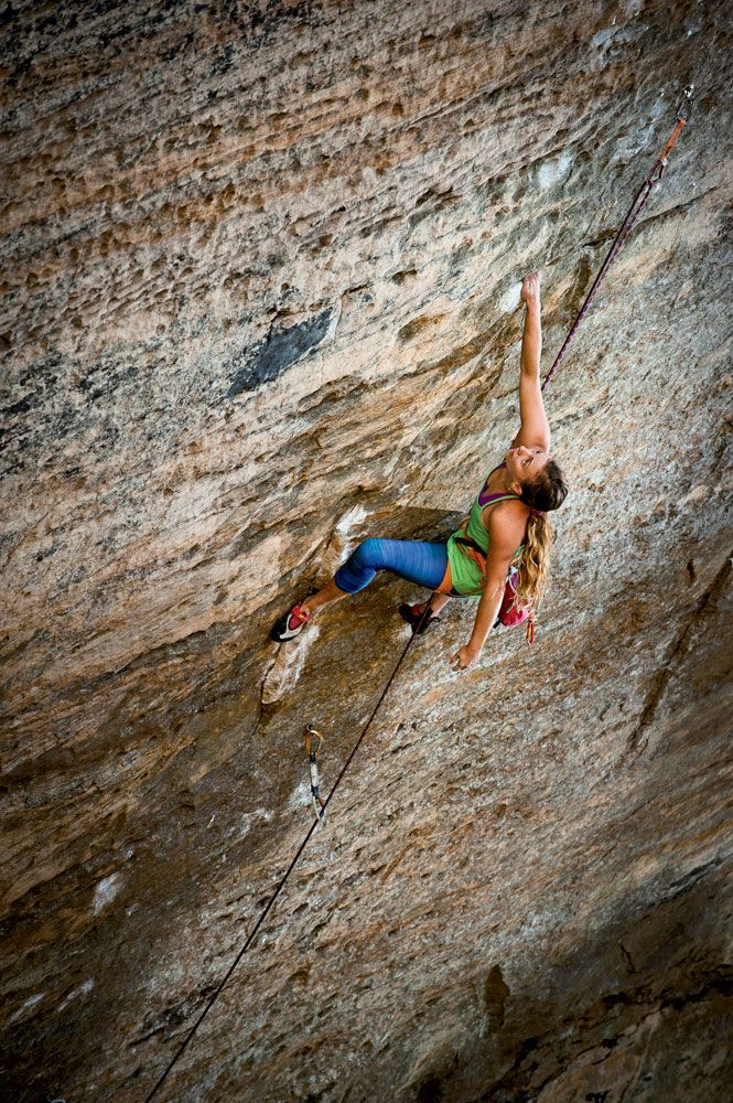 michaela kiersch on the first female ascent of emthe golden ticket