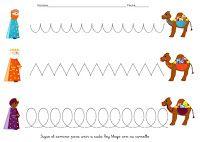 Menta Más Chocolate - RECURSOS PARA EDUCACIÓN INFANTIL: Actividades de Navidad para trabajar la Grafomotricidad