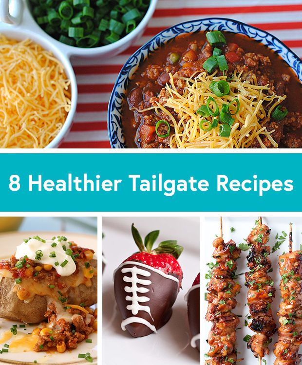 8 Healthy Tailgate Recipes for football season! Hut, hut, HIKE! #tailgating #recipes