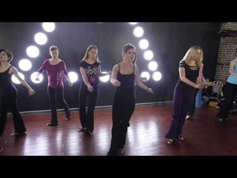Lady's Styling West Coast Swing - YouTube