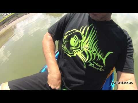 Nose rope for kayak fishing must have how to yakntexas for Youtube kayak fishing