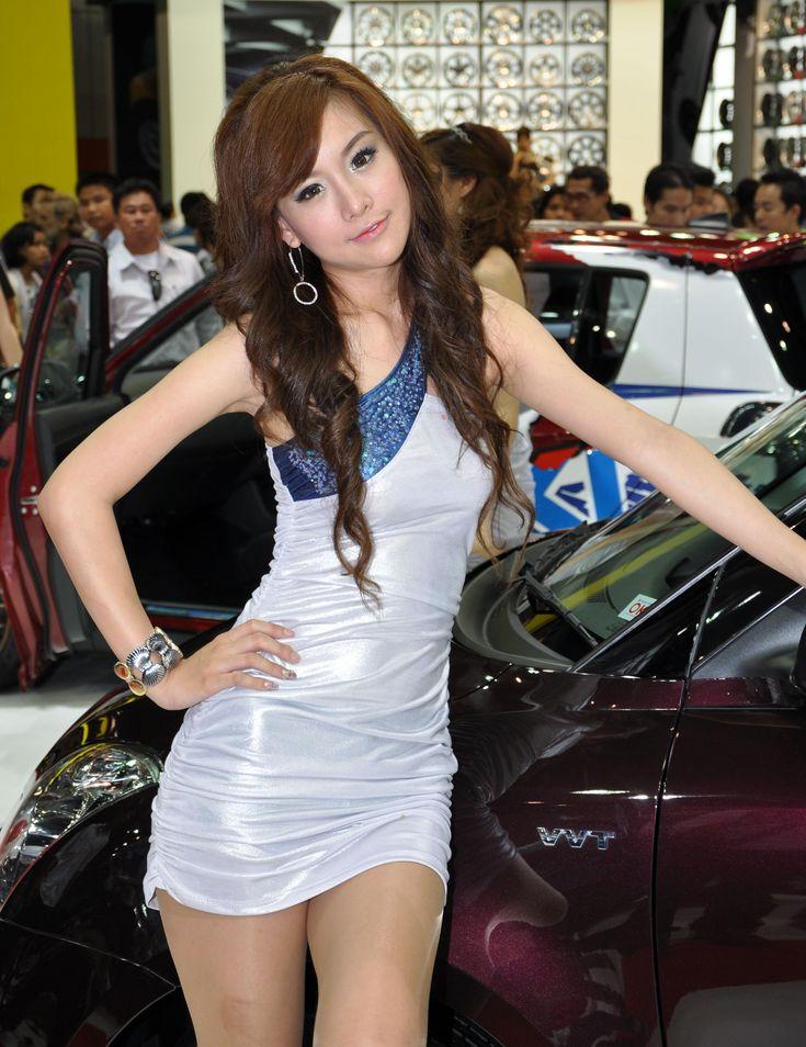 bangkok motor show girls
