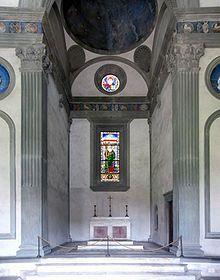 Cappella Pazzi (interno), Filippo Brunelleschi, dal 1429, Firenze