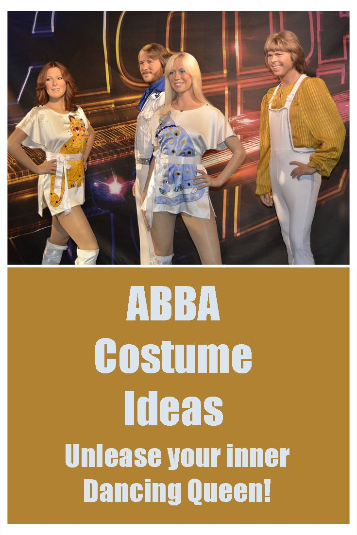 Great ABBA costume ideas to create the perfect fancy dress outfit