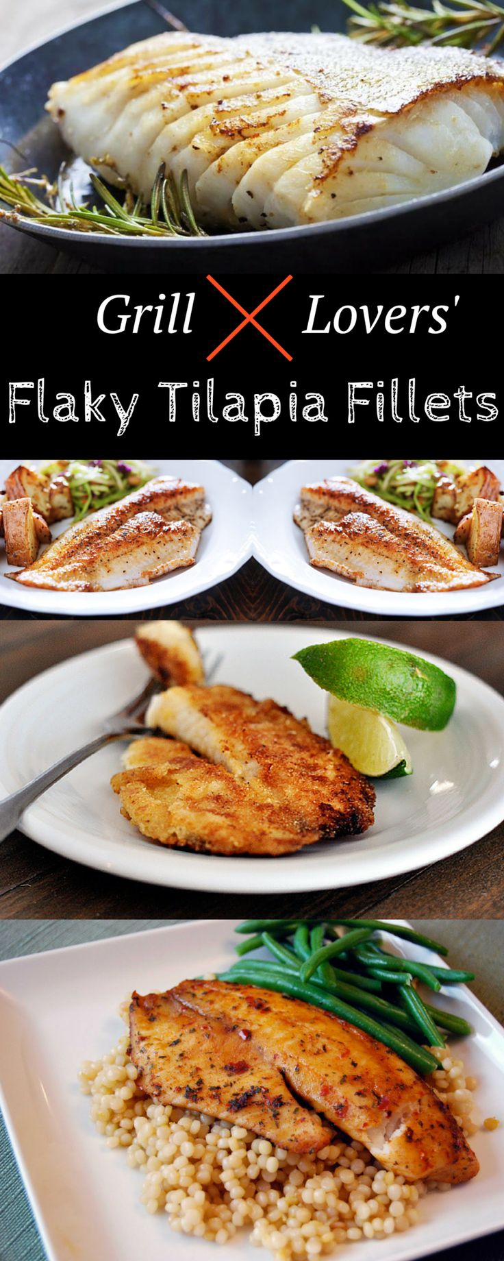 Grill Lovers' Flaky Tilapia Fillets Recipe   #recipes #foodporn #foodie